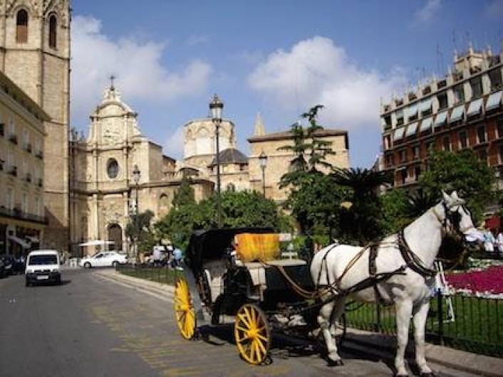 Location de vacances - Appartement à Canet d'en Berenguer - VALENCE à 35 minutes - Plaza de la reina - La cathédrale