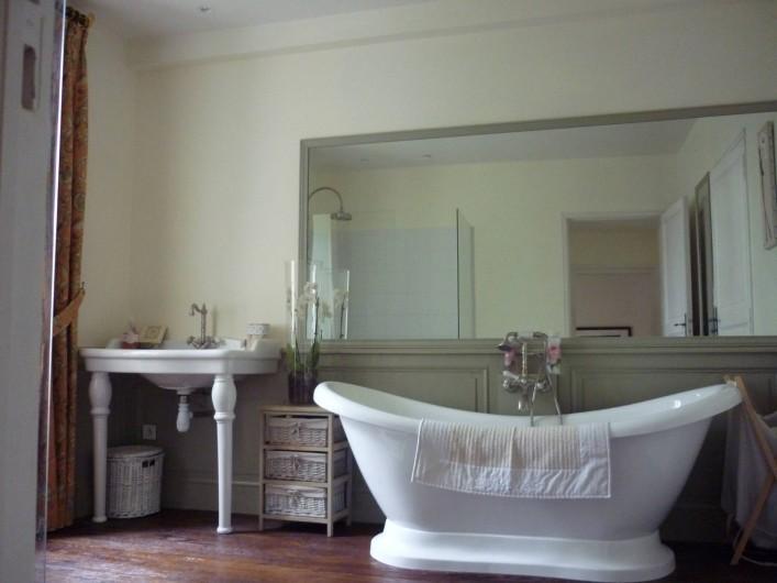 Location de vacances - Villa à Ribérac - La salle de bain