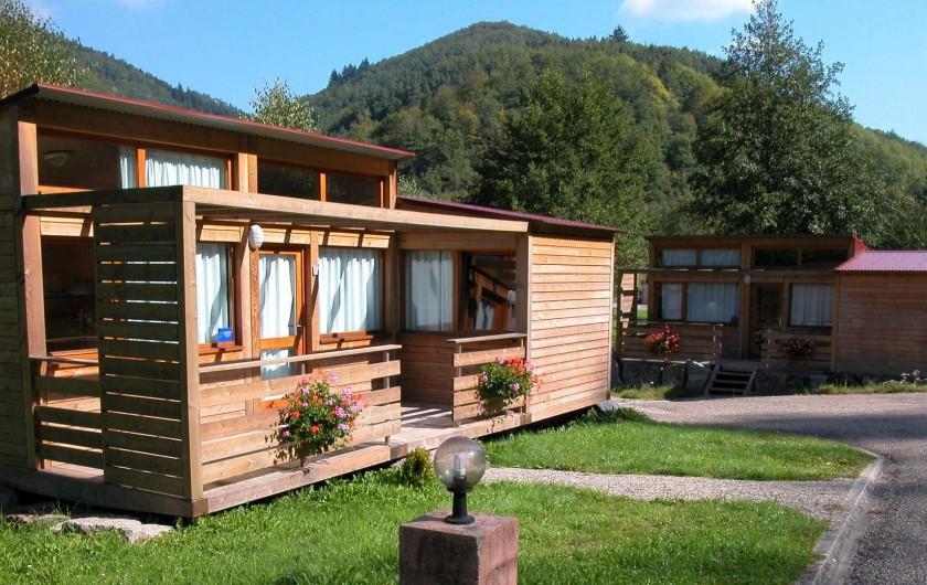 Location de vacances - Chalet à Rombach-le-Franc