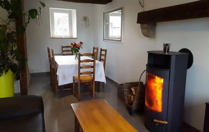 Location de vacances - Gîte à Saint-Pol-de-Léon - Coin séjour salon