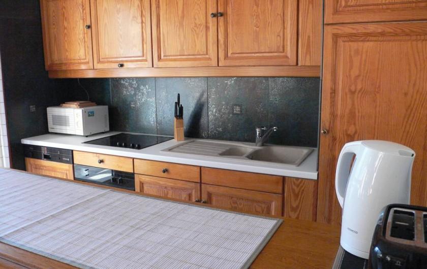 Location de vacances - Appartement à Vaujany - coin cuisine