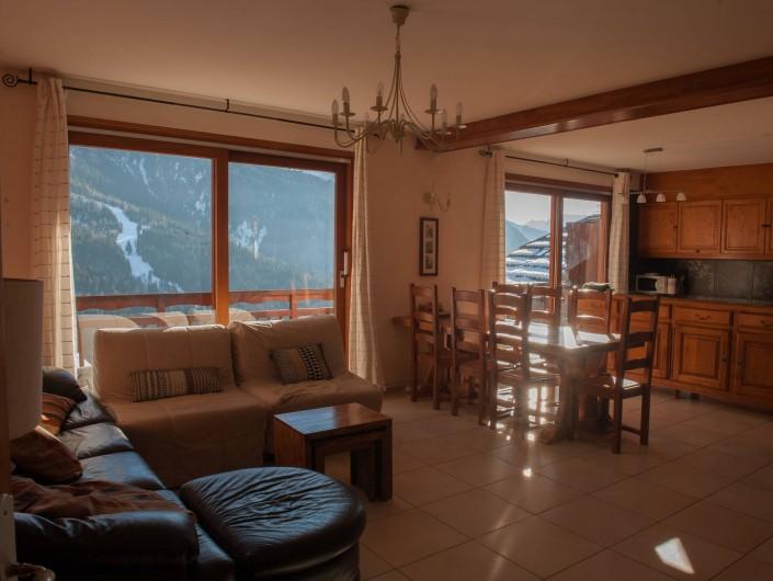 Location de vacances - Appartement à Vaujany - sejour