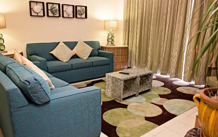 Location de vacances - Appartement à Oyster Pond - salon