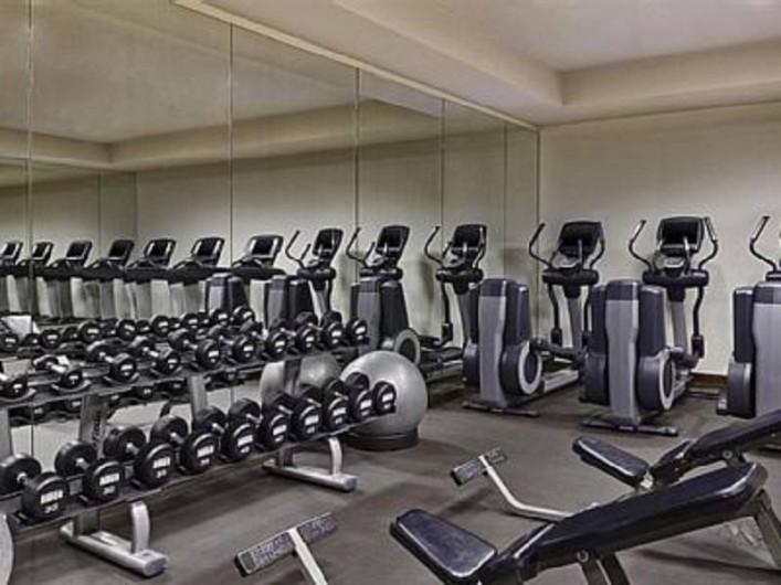 Location de vacances - Appartement à Oyster Pond - salle de fitness