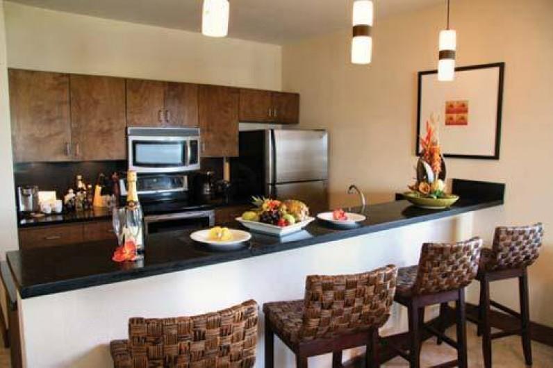 Location de vacances - Appartement à Oyster Pond - cuisine américaine
