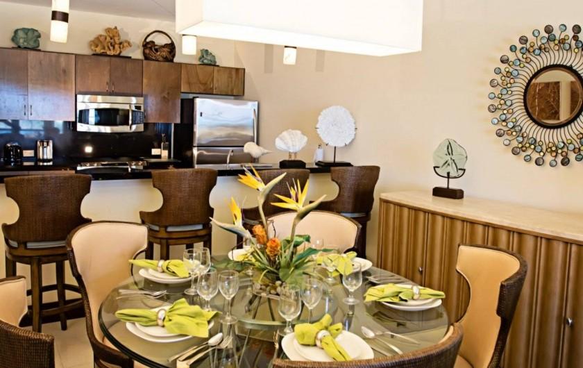 Location de vacances - Appartement à Oyster Pond - salle à manger