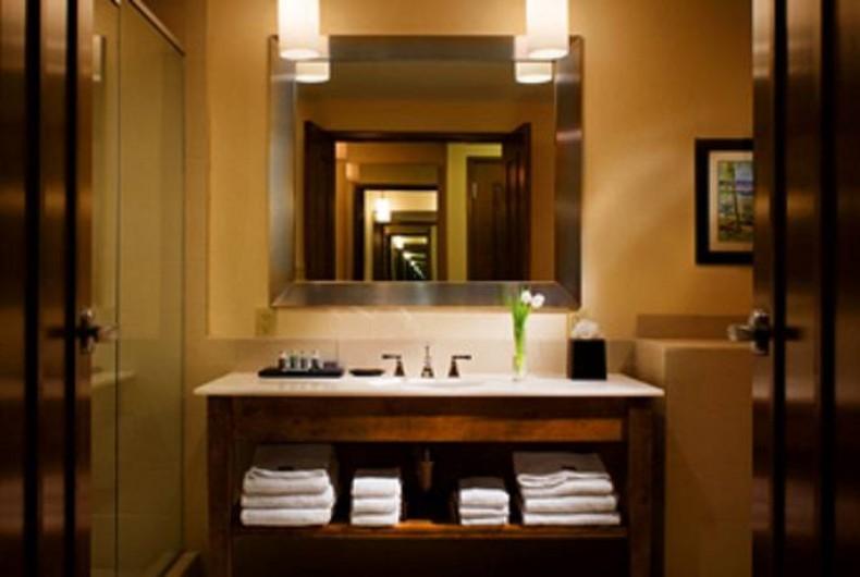 Location de vacances - Appartement à Oyster Pond - salle de bains