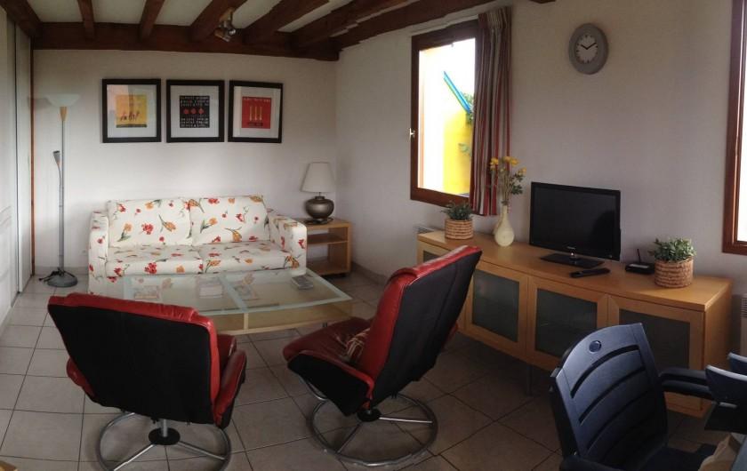 Location de vacances - Villa à Saint-Julien-en-Born - salon