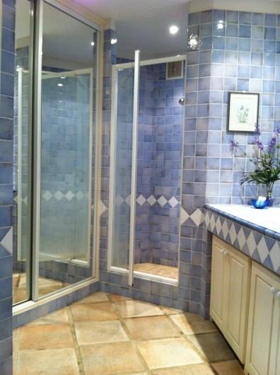 Location de vacances - Villa à Théoule-sur-Mer - salle douche