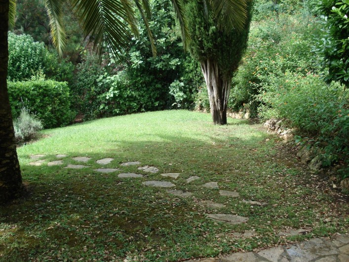 Location de vacances - Villa à Théoule-sur-Mer - jardin
