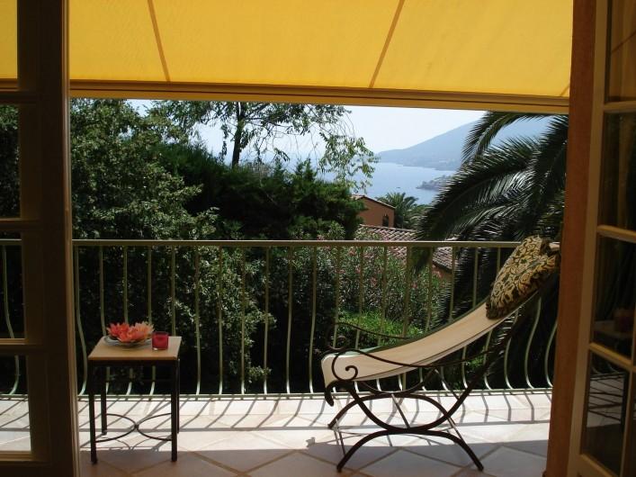 Location de vacances - Villa à Théoule-sur-Mer - terrasse