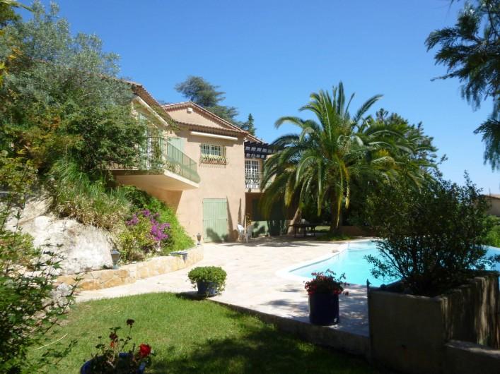 Location de vacances - Villa à Théoule-sur-Mer - villa