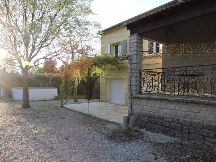 Location de vacances - Chalet à Monteux - JARDIN 2