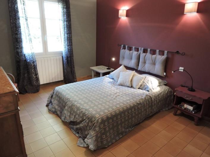 Location de vacances - Chalet à Monteux - CHAMBRE1
