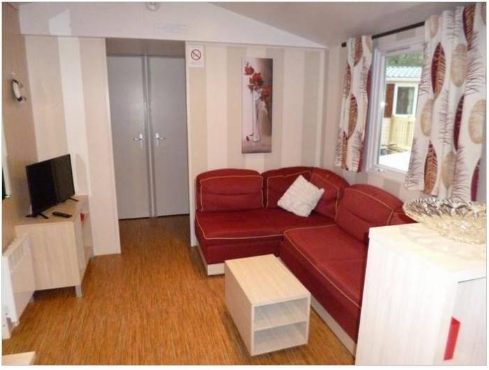 Location de vacances - Bungalow - Mobilhome à Saint-Brevin-les-Pins - Espace tv, détente