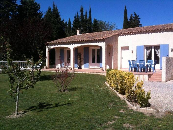 Location de vacances - Villa à Lamanon