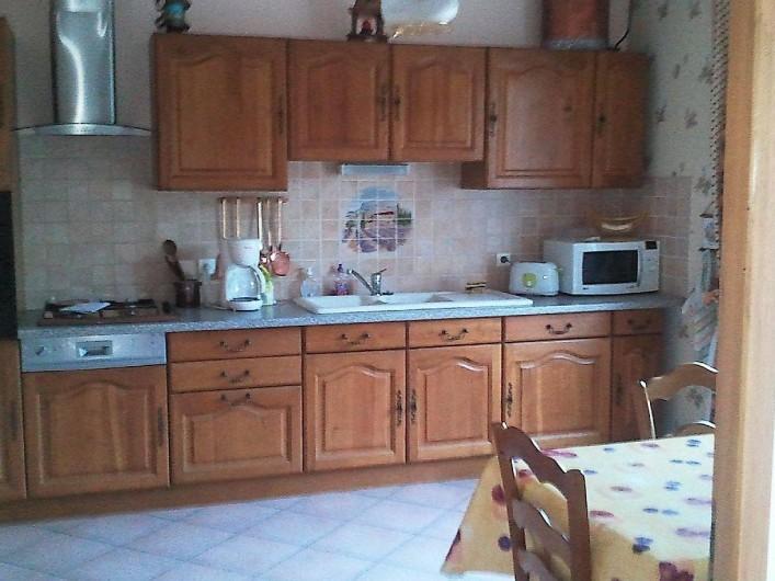 Location de vacances - Villa à Lamanon - la cuisine équipé