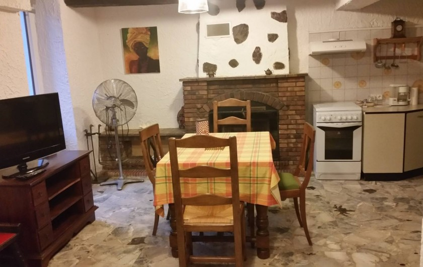 Location de vacances - Villa à Cantaron - Le coin cuisine