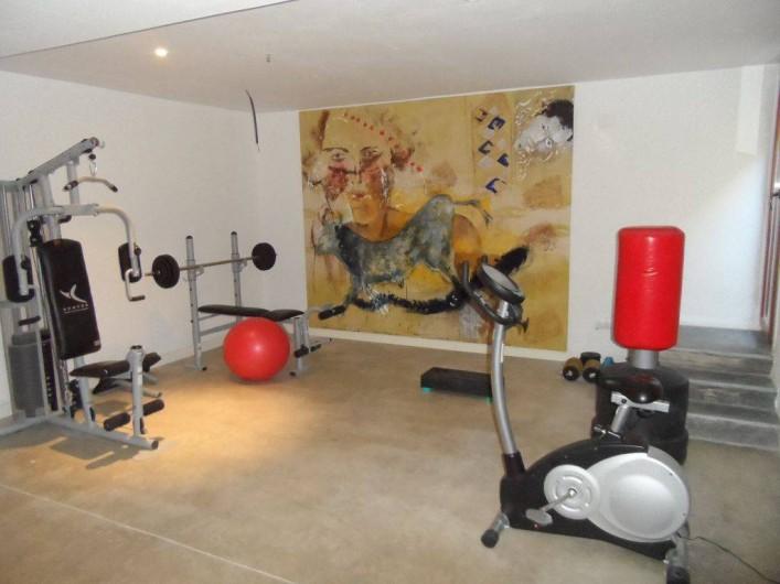 Location de vacances - Villa à Busot - Salle de muscu