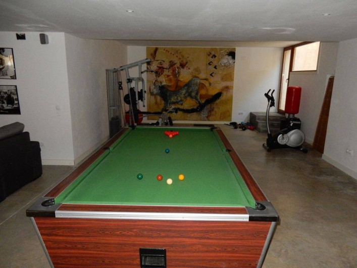 Location de vacances - Villa à Busot - Snooker ou billard américain professionnel