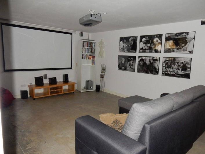 Location de vacances - Villa à Busot - Home cinéma