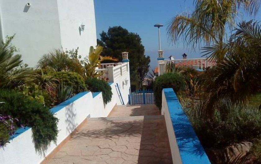 Location de vacances - Appartement à Peníscola - Passage d'entrée