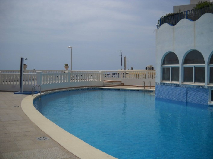 Location de vacances - Appartement à Peníscola - PISCINE