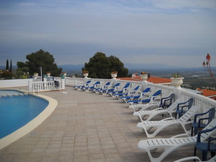 Location de vacances - Appartement à Peníscola - PISCINE