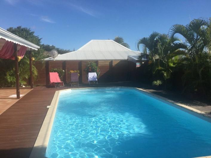 Location de vacances - Villa à Le Diamant - La piscine