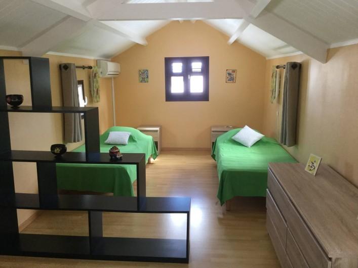 Location de vacances - Villa à Le Diamant - la chambre à l'étage
