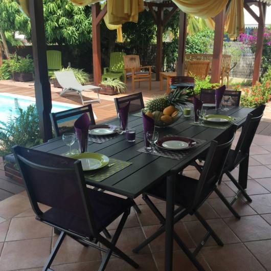 Location de vacances - Villa à Le Diamant - La table