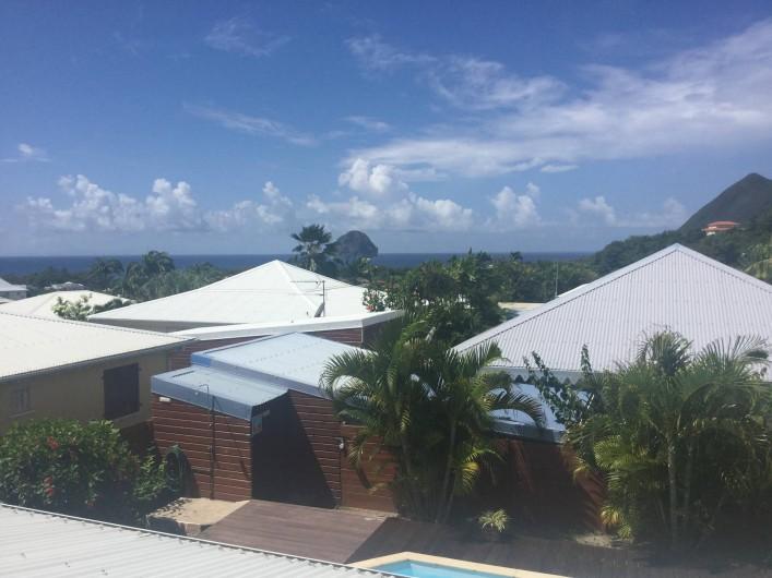 Location de vacances - Villa à Le Diamant - Vue de la chambre à l'étage