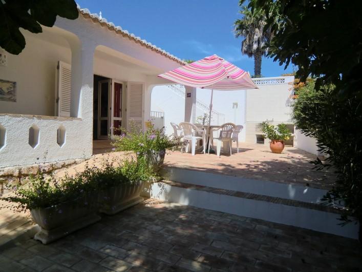Location de vacances - Chalet à Luz - Terrasse - Loggia