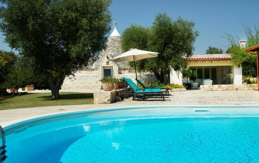 Location de vacances - Villa à Ceglie Messapica - Trulli Stella