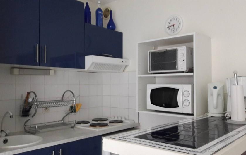 Location de vacances - Appartement à Collioure - Cuisine