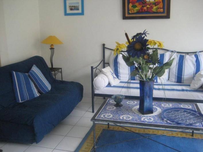 Location de vacances - Appartement à Collioure - Coin salon