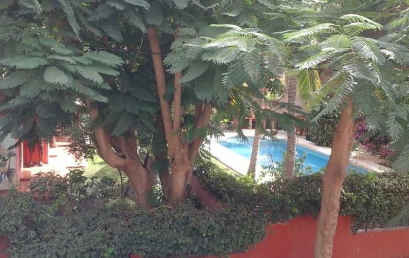 Location de vacances - Villa à Saly - Vue d'extérieur
