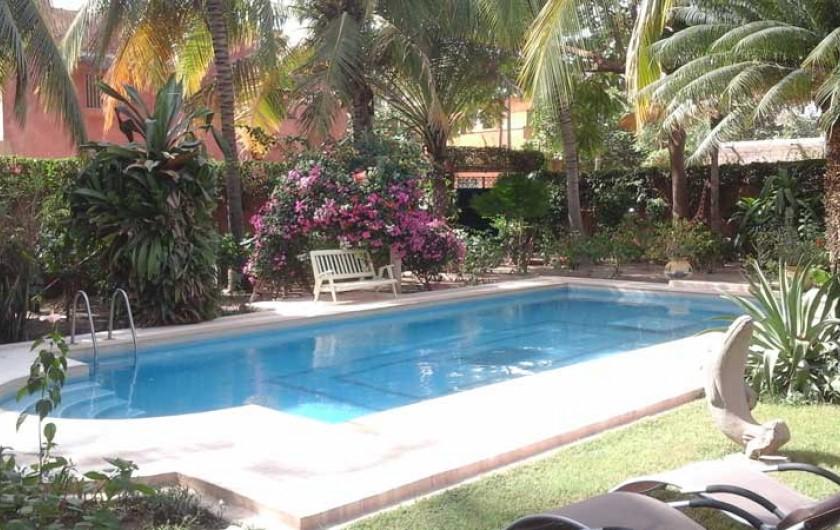 Location de vacances - Villa à Saly - Piscine