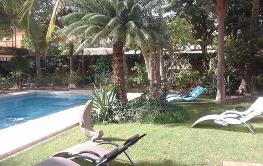 Location de vacances - Villa à Saly - Jardin