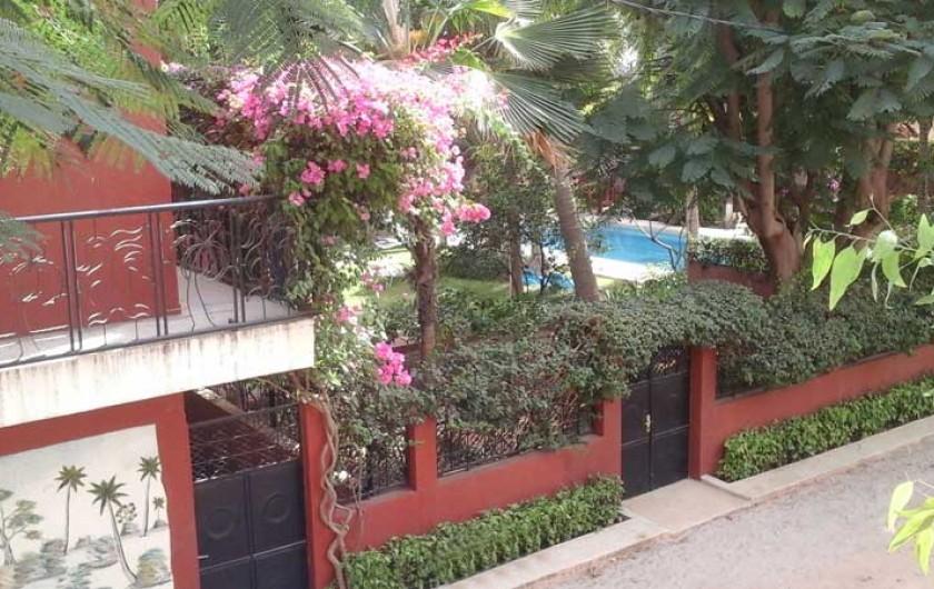 Location de vacances - Villa à Saly - Façade de la villa