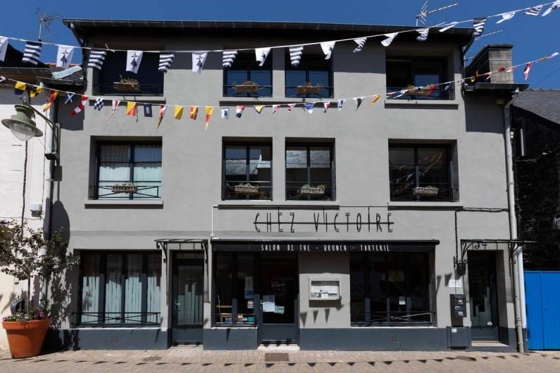 Location de vacances - Appartement à Binic - Profitez du salon de thé chez Victoire au rez de chaussée