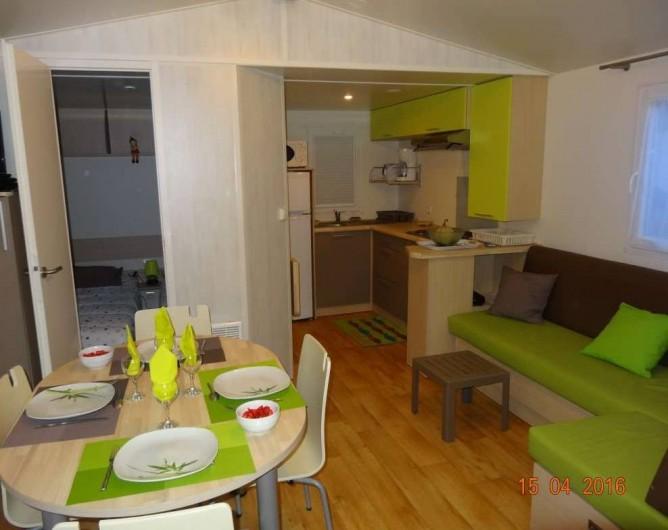 Location de vacances - Bungalow - Mobilhome à Sérignan