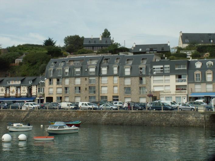 Location de vacances - Appartement à Binic - Résidence vue sur eau