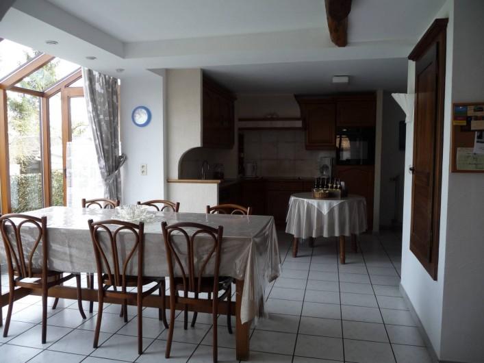 Location de vacances - Gîte à Humain - La cuisine