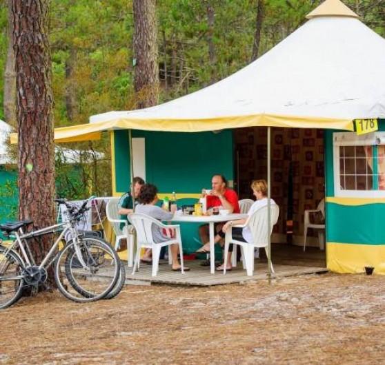 Location de vacances - Camping à Girac - Kiwi bungalow