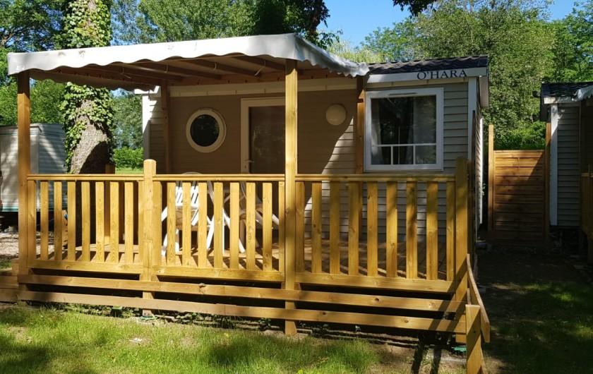 Location de vacances - Camping à Girac - Chalet Lou Païs duo 1 chambre