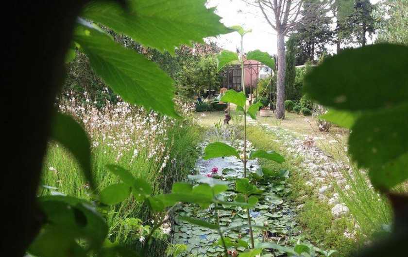 Location de vacances - Maison - Villa à Cheval-Blanc - Tranquillité
