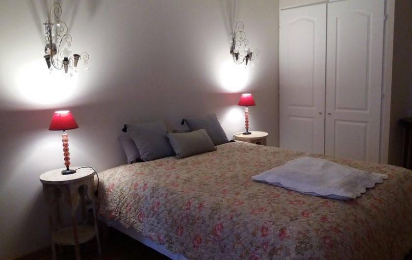 Location de vacances - Maison - Villa à Cheval-Blanc - Possibilité de séparer le lit de 160 en deux lits de 80.