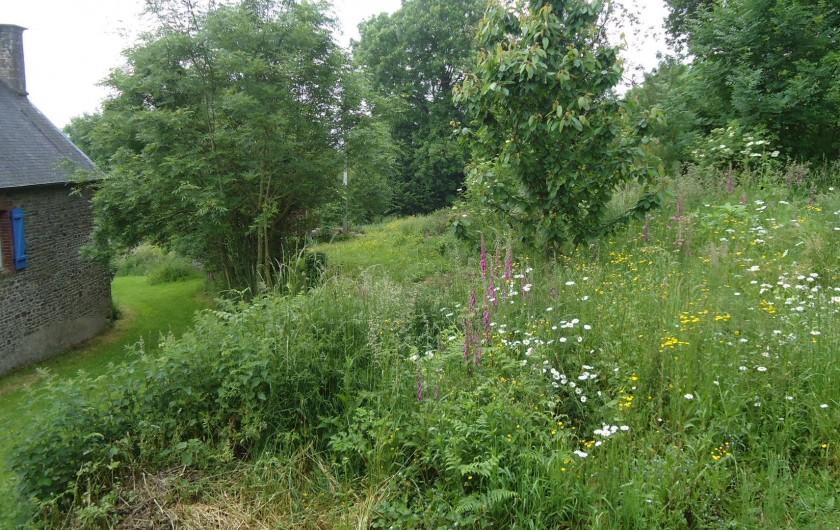 Location de vacances - Maison - Villa à Guilberville - vue depuis la chambre