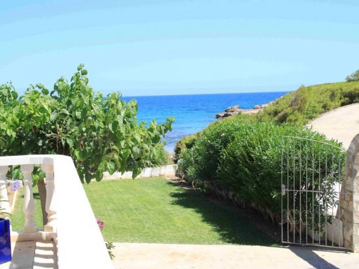 Location de vacances - Villa à L'Ametlla de Mar - vue mer